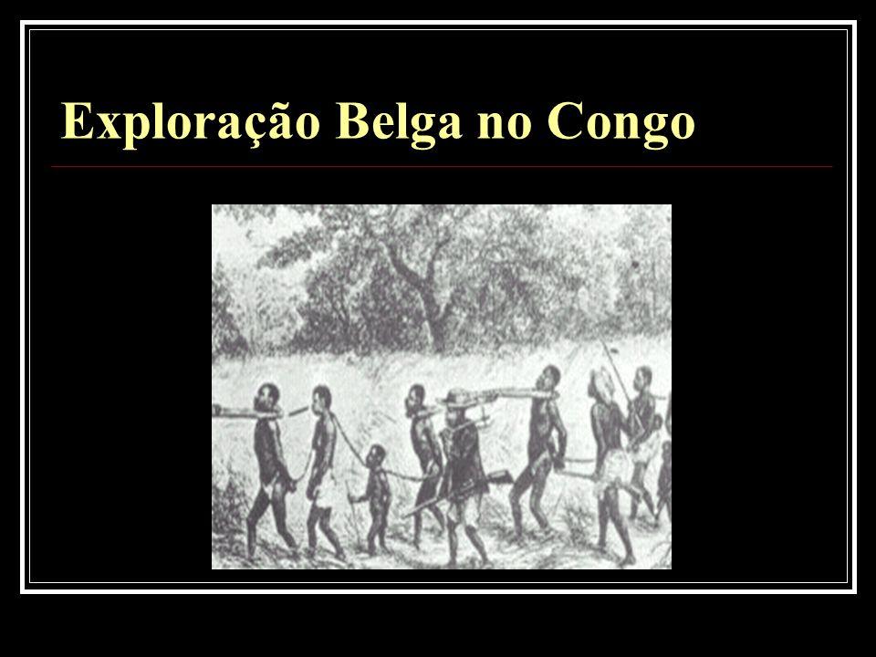 Exploração Belga no Congo