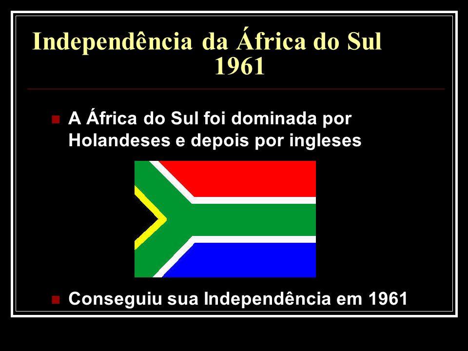 Independência da África do Sul 1961