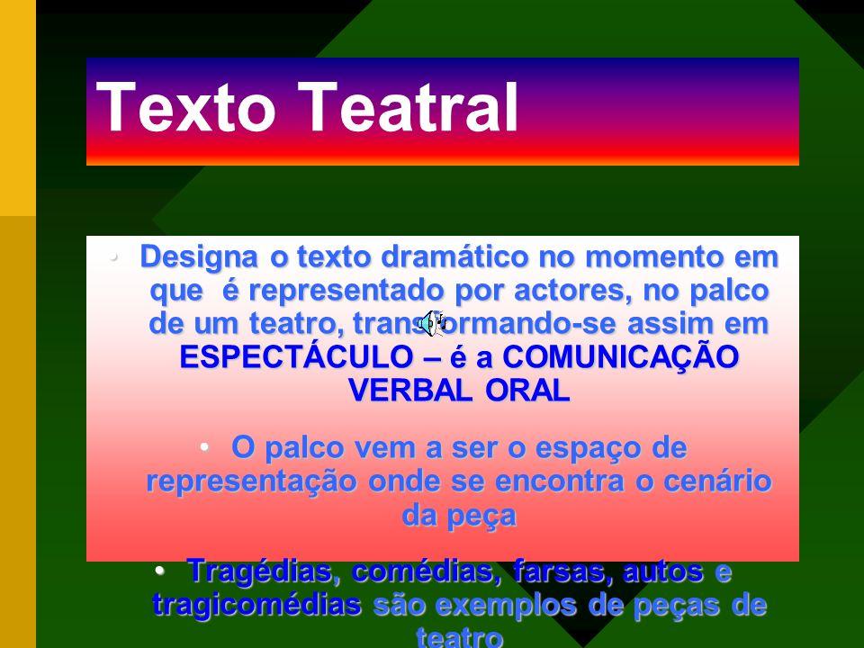 Texto Teatral