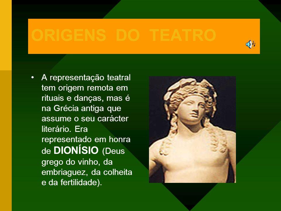 ORIGENS DO TEATRO