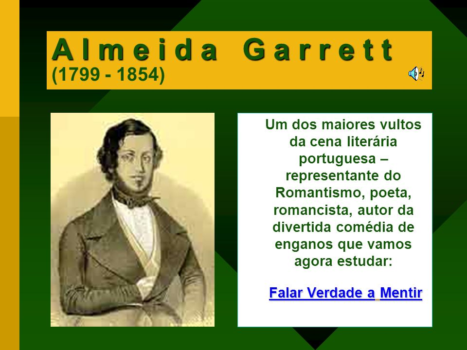 A l m e i d a G a r r e t t (1799 - 1854)