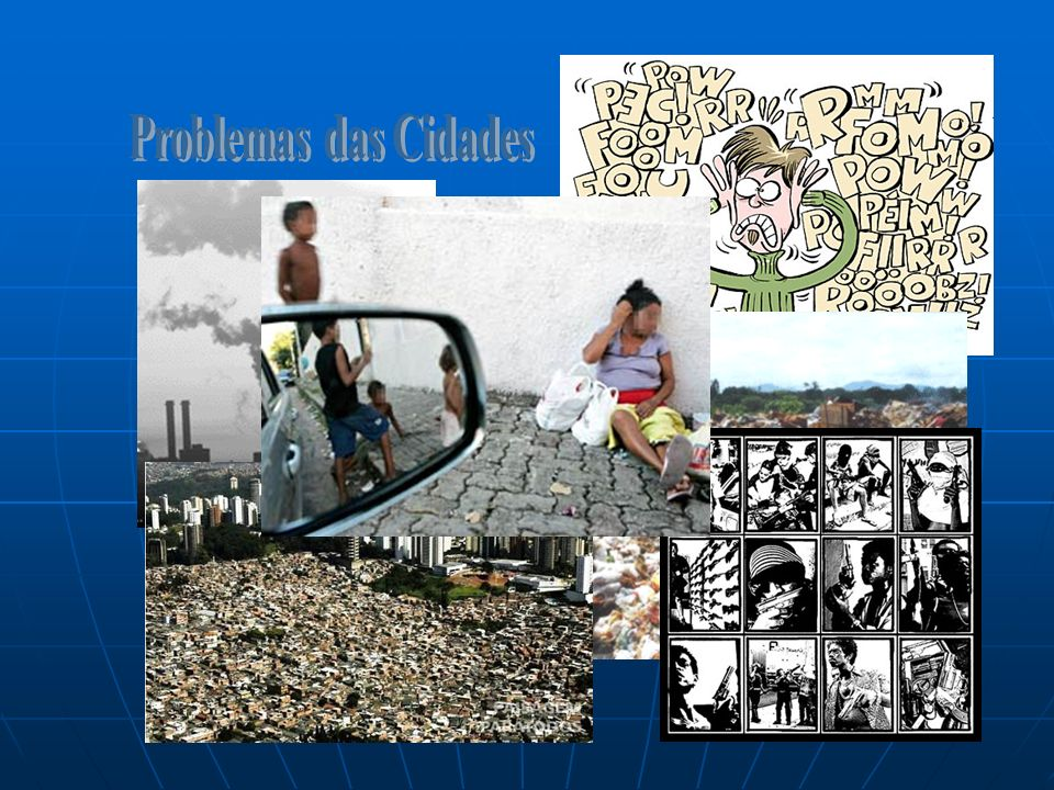 Problemas das Cidades Poluição do Ar