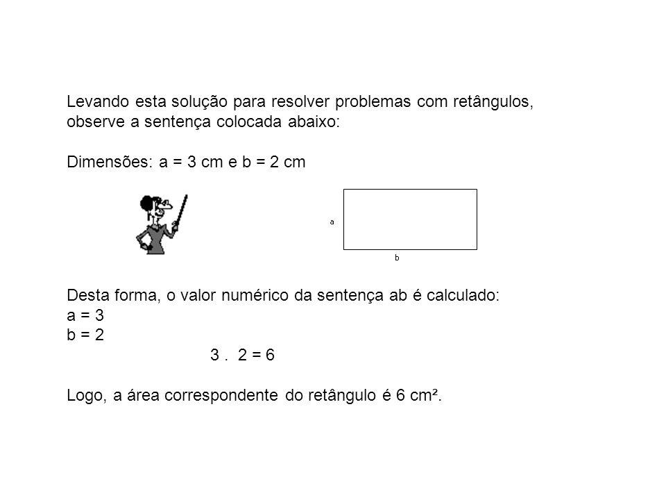 Levando esta solução para resolver problemas com retângulos,