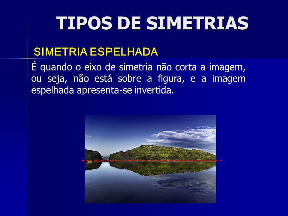 TIPOS DE SIMETRIAS SIMETRIA ESPELHADA