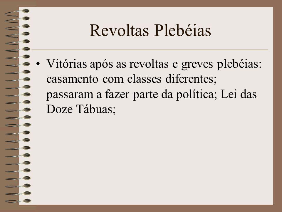 Revoltas Plebéias