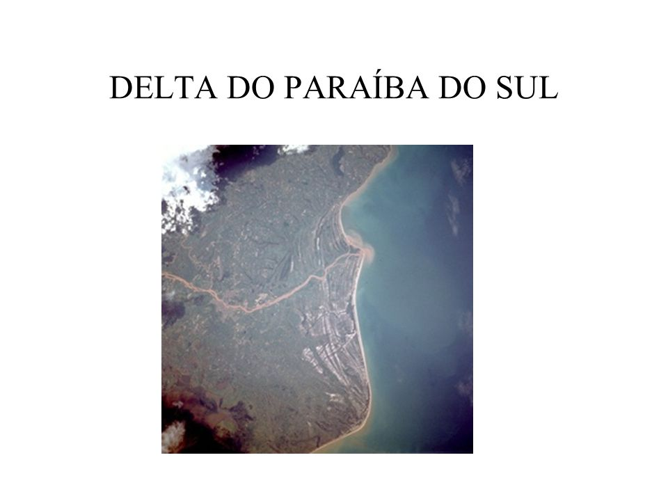 DELTA DO PARAÍBA DO SUL
