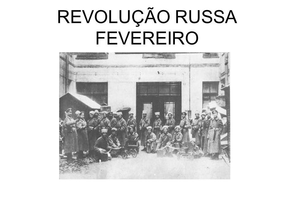 REVOLUÇÃO RUSSA FEVEREIRO