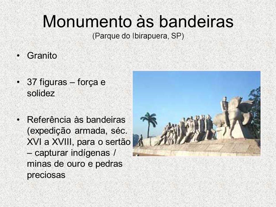 Monumento às bandeiras (Parque do Ibirapuera, SP)