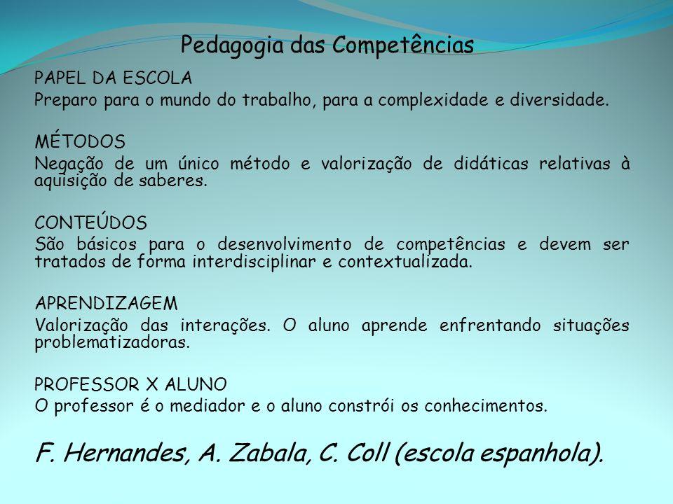 Pedagogia das Competências