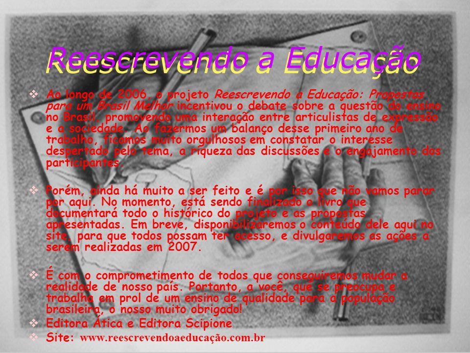 Reescrevendo a Educação