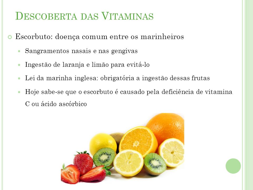 Descoberta das Vitaminas