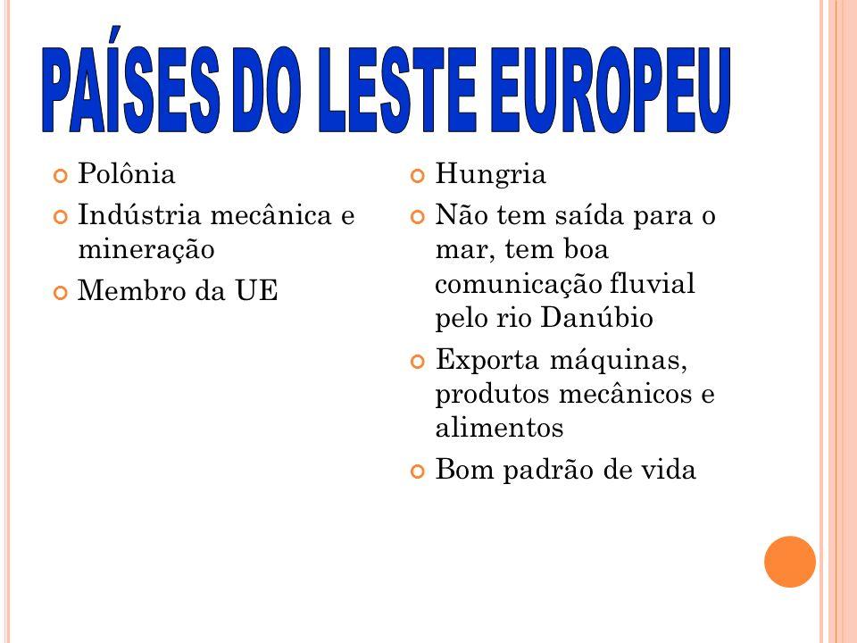 PAÍSES DO LESTE EUROPEU
