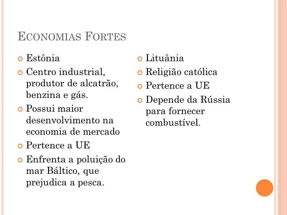 Economias Fortes Estônia