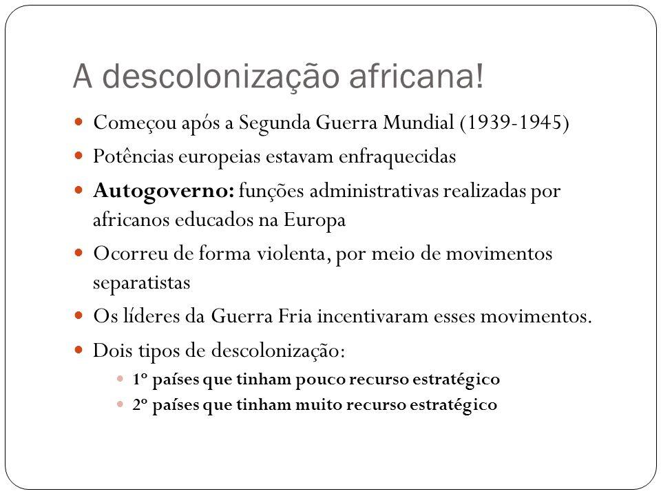 A descolonização africana!