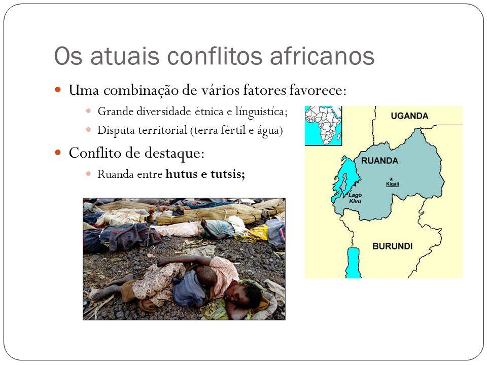 Os atuais conflitos africanos
