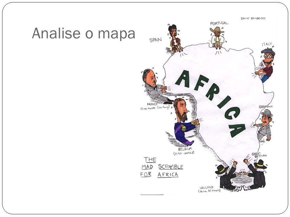 Analise o mapa