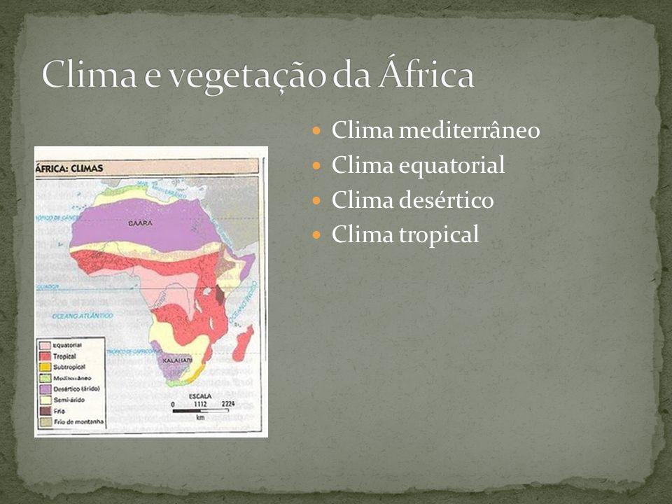 Clima e vegetação da África