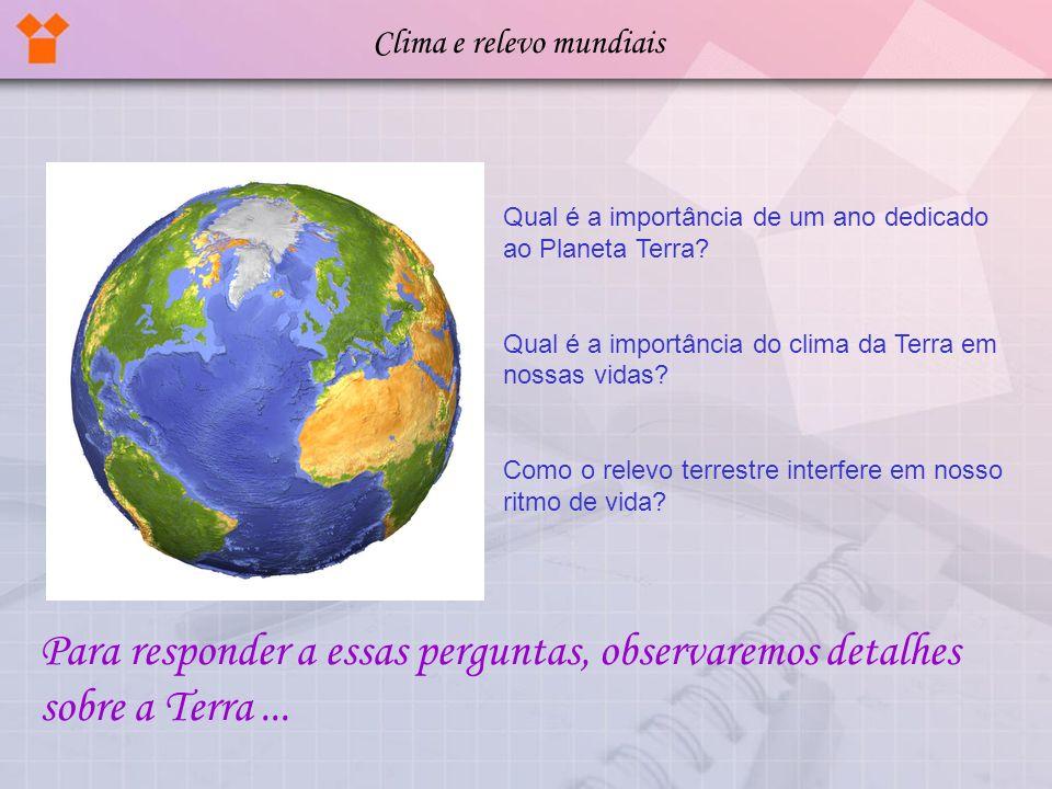 Clima e relevo mundiais