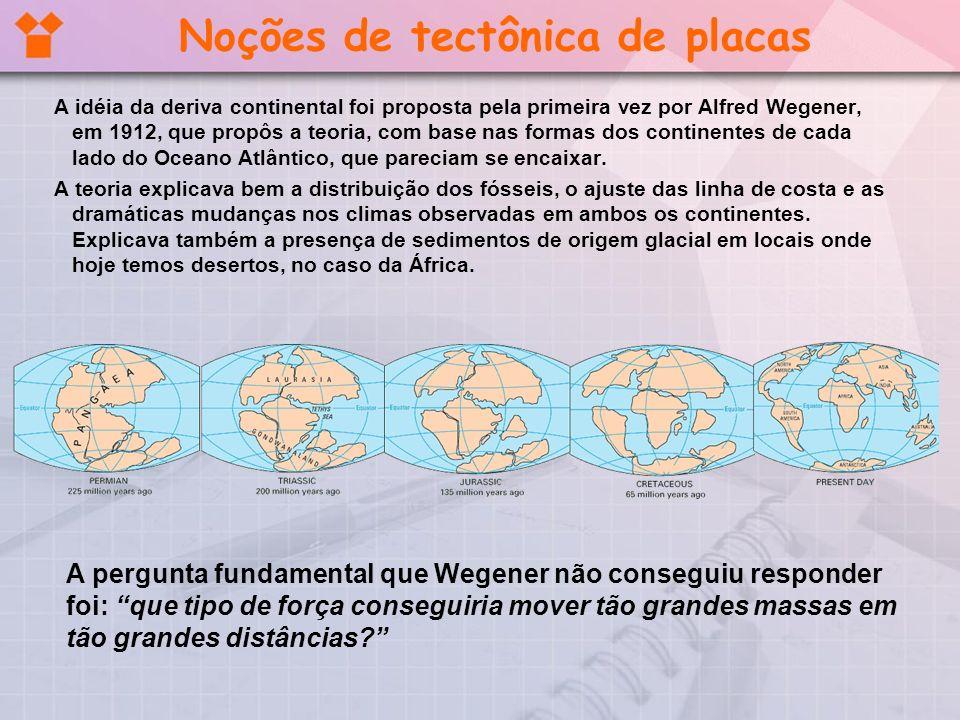 Noções de tectônica de placas