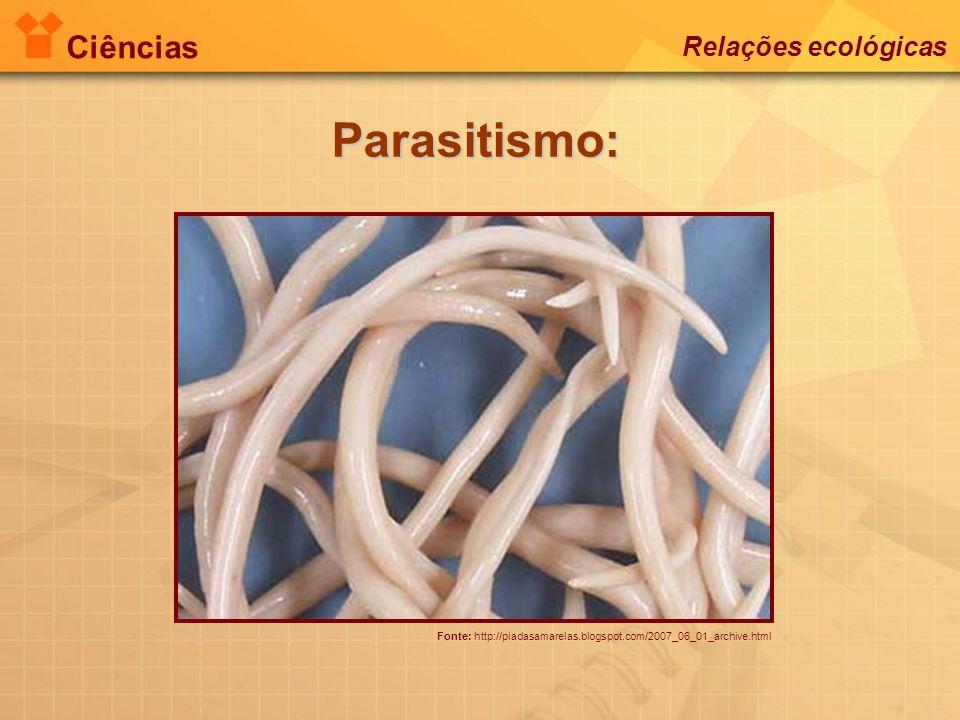 Parasitismo: Ciências Relações ecológicas