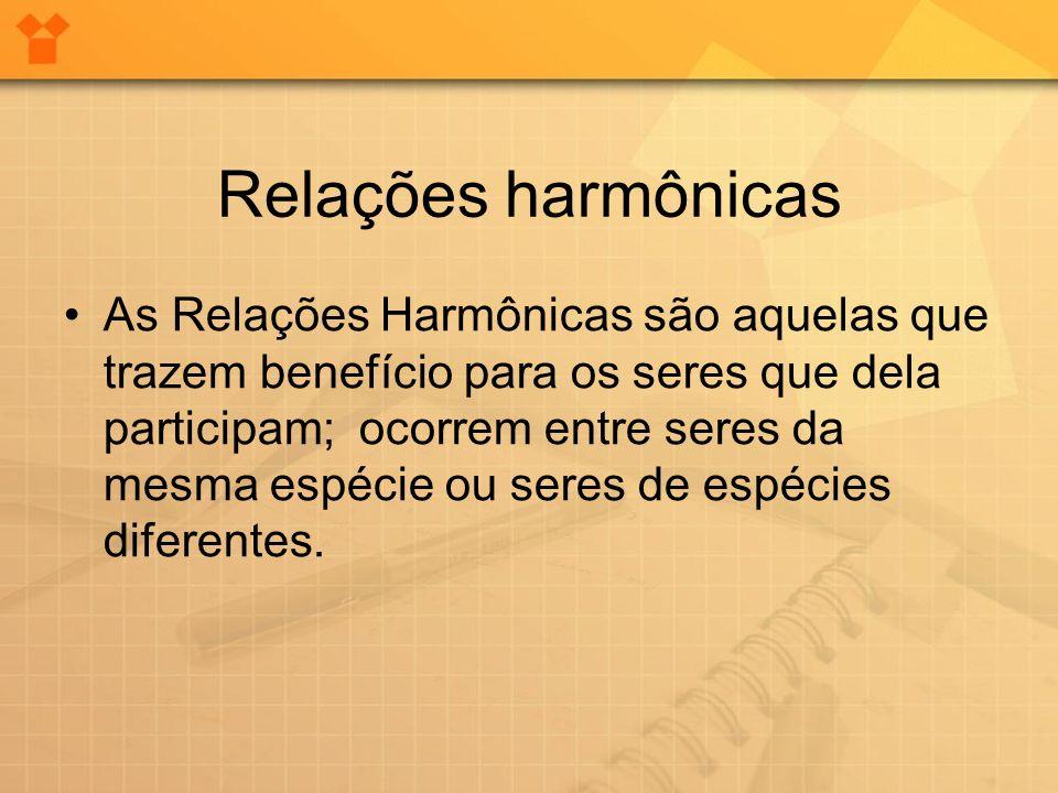 Relações harmônicas