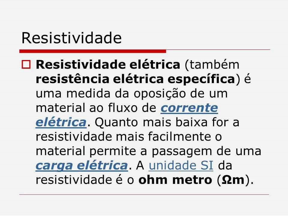 Resistividade