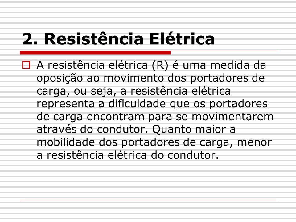 2. Resistência Elétrica