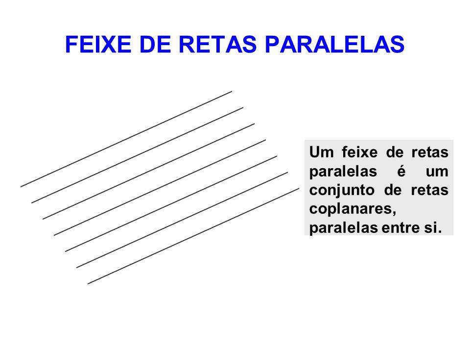 FEIXE DE RETAS PARALELAS
