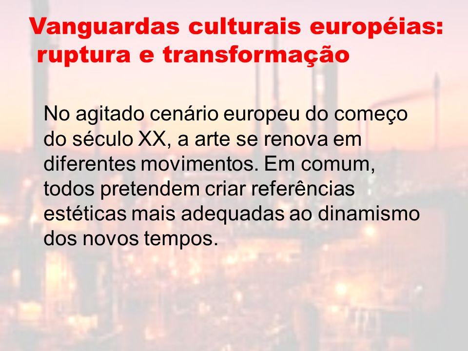 Vanguardas culturais européias: ruptura e transformação