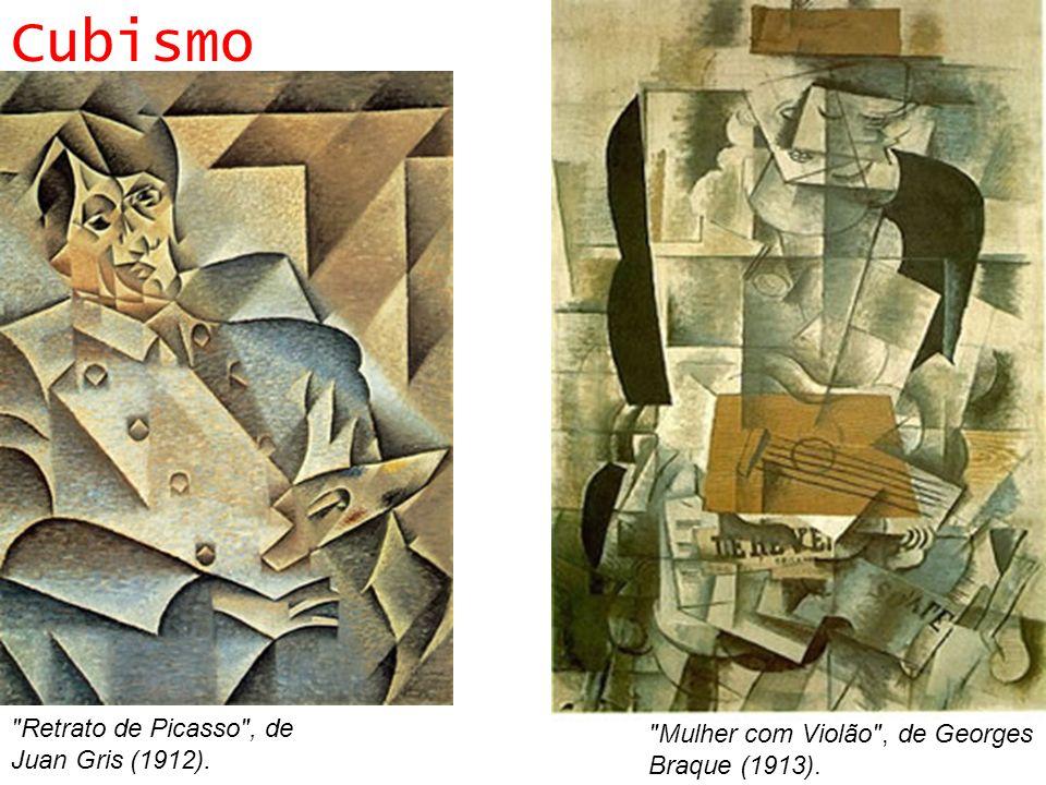 Cubismo Retrato de Picasso , de Juan Gris (1912).