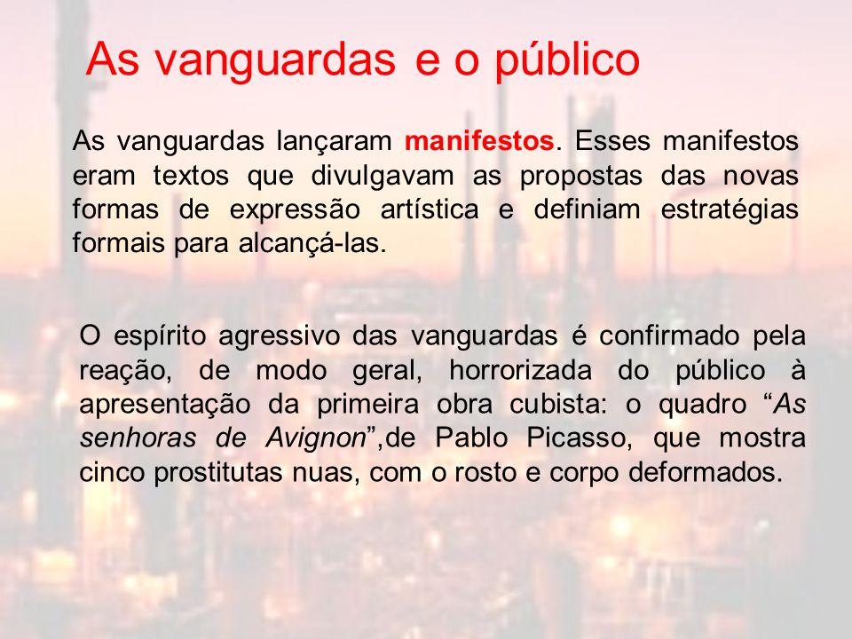 As vanguardas e o público