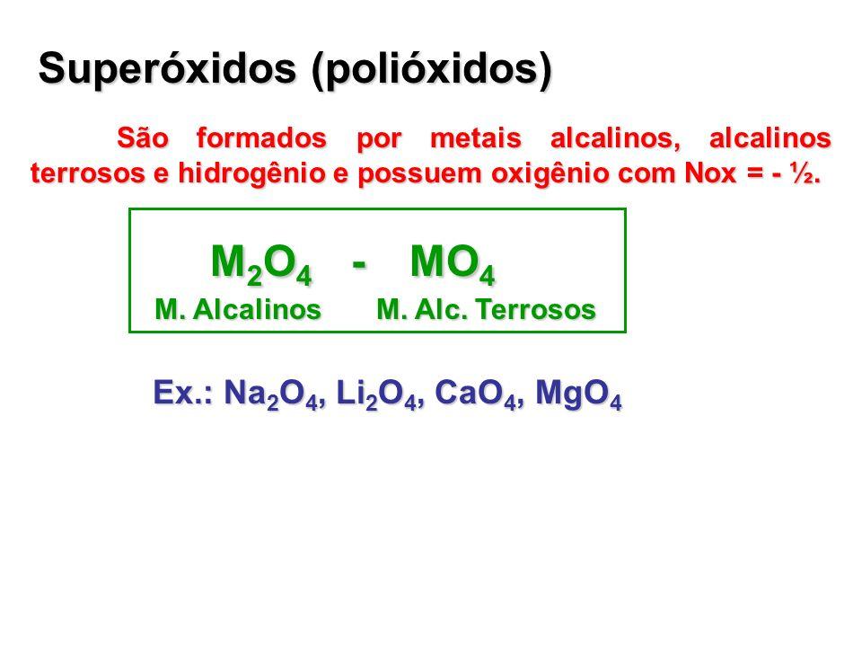 Superóxidos (polióxidos)