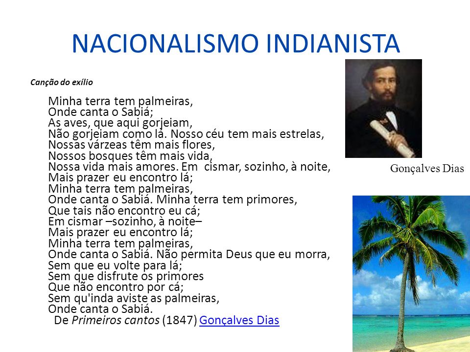 NACIONALISMO INDIANISTA