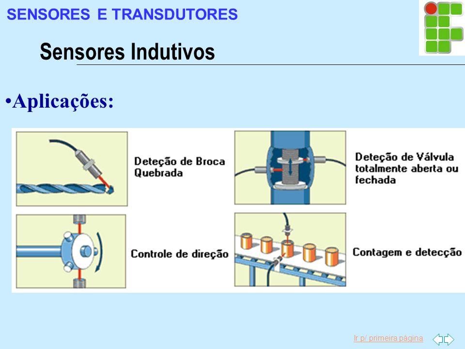 SENSORES E TRANSDUTORES