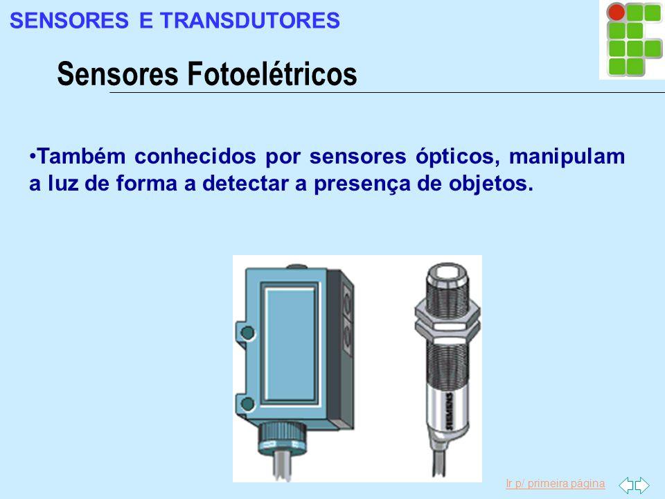 Sensores Fotoelétricos