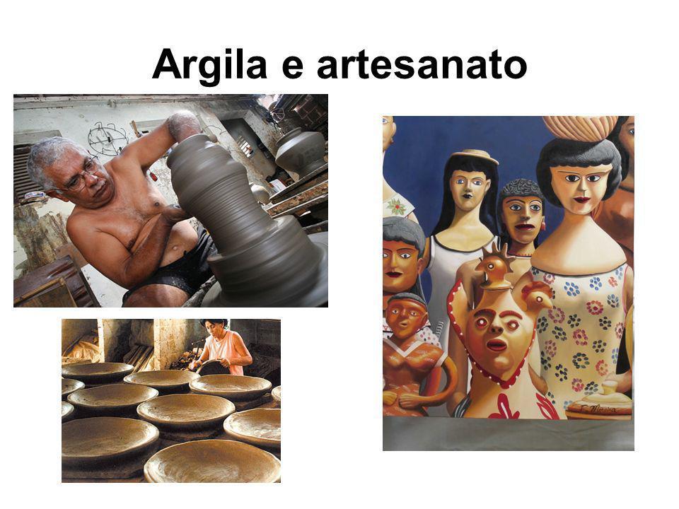 Argila e artesanato