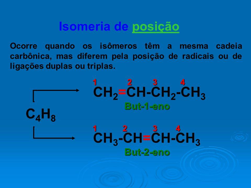 CH2=CH-CH2-CH3 C4H8 CH3-CH=CH-CH3