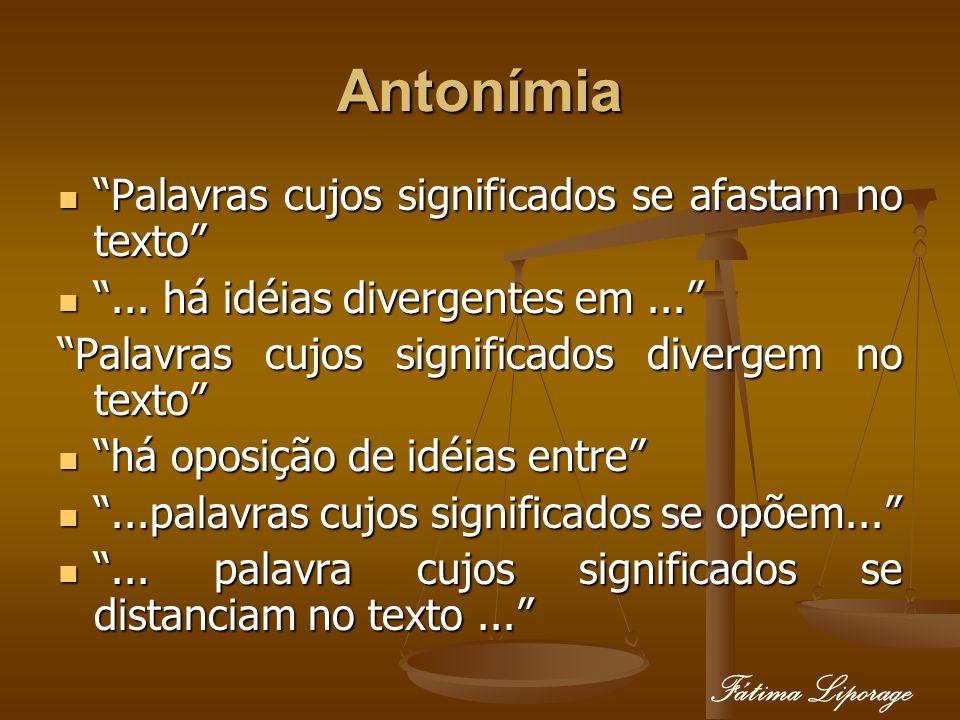 Antonímia Fátima Liporage