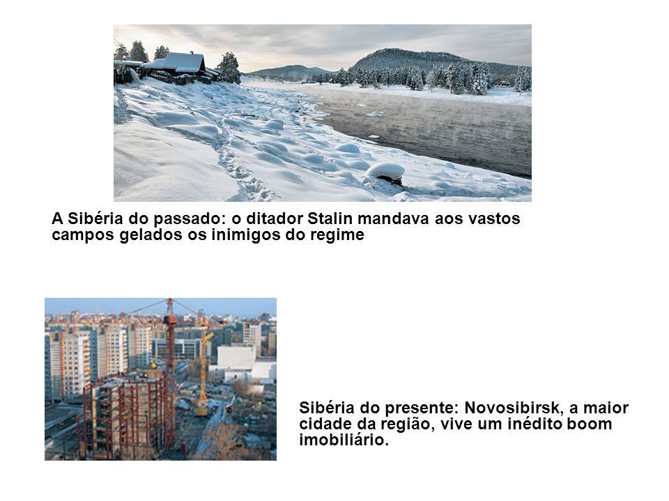 A Sibéria do passado: o ditador Stalin mandava aos vastos campos gelados os inimigos do regime