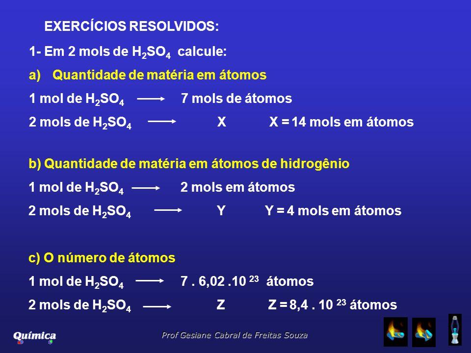 EXERCÍCIOS RESOLVIDOS: