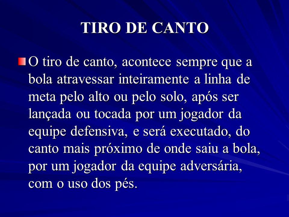 TIRO DE CANTO