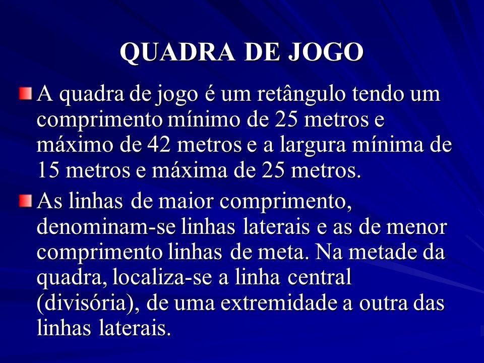 QUADRA DE JOGO