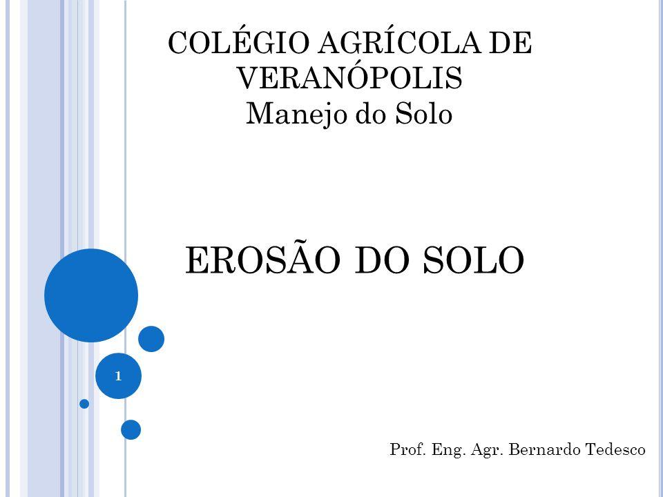 COLÉGIO AGRÍCOLA DE VERANÓPOLIS