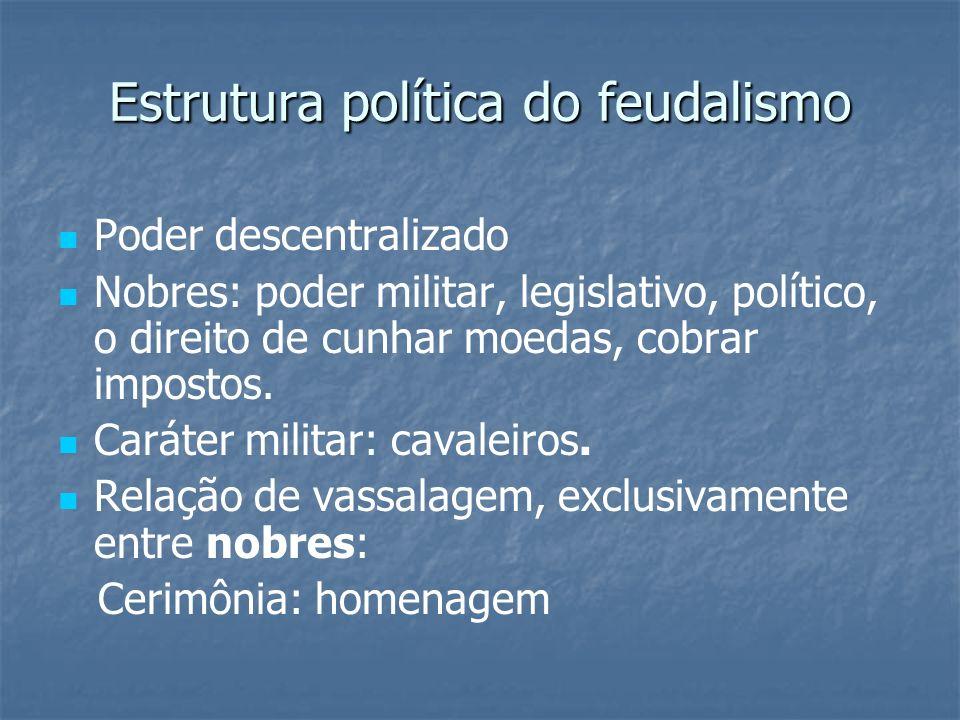 Estrutura política do feudalismo