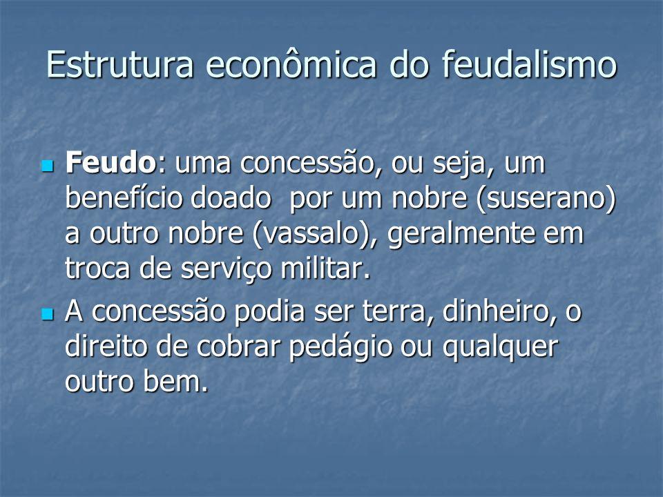 Estrutura econômica do feudalismo