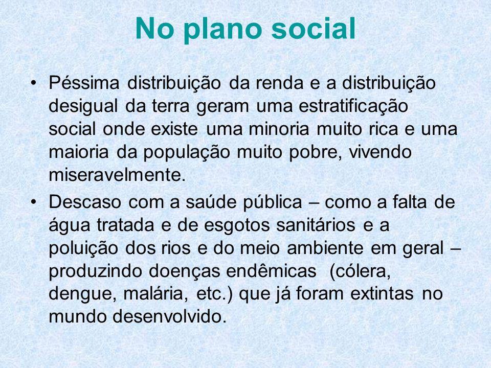 No plano social