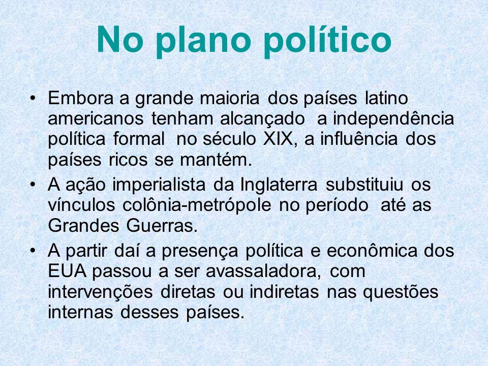 No plano político
