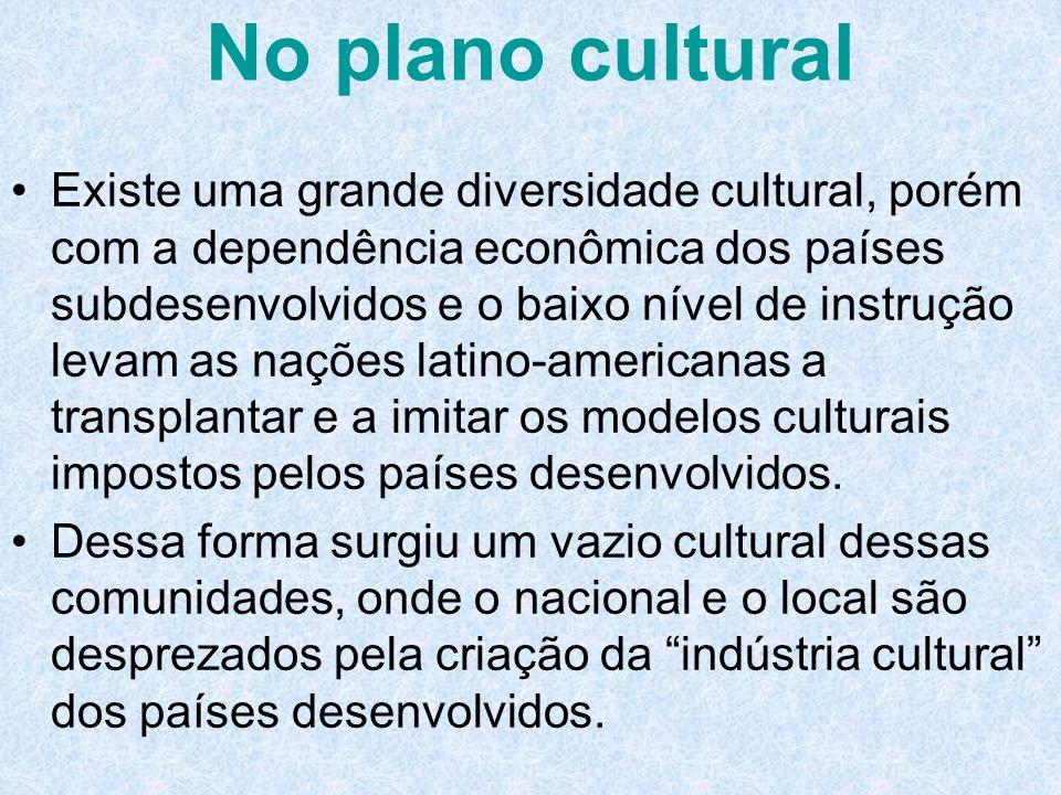 No plano cultural