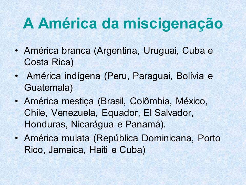 A América da miscigenação