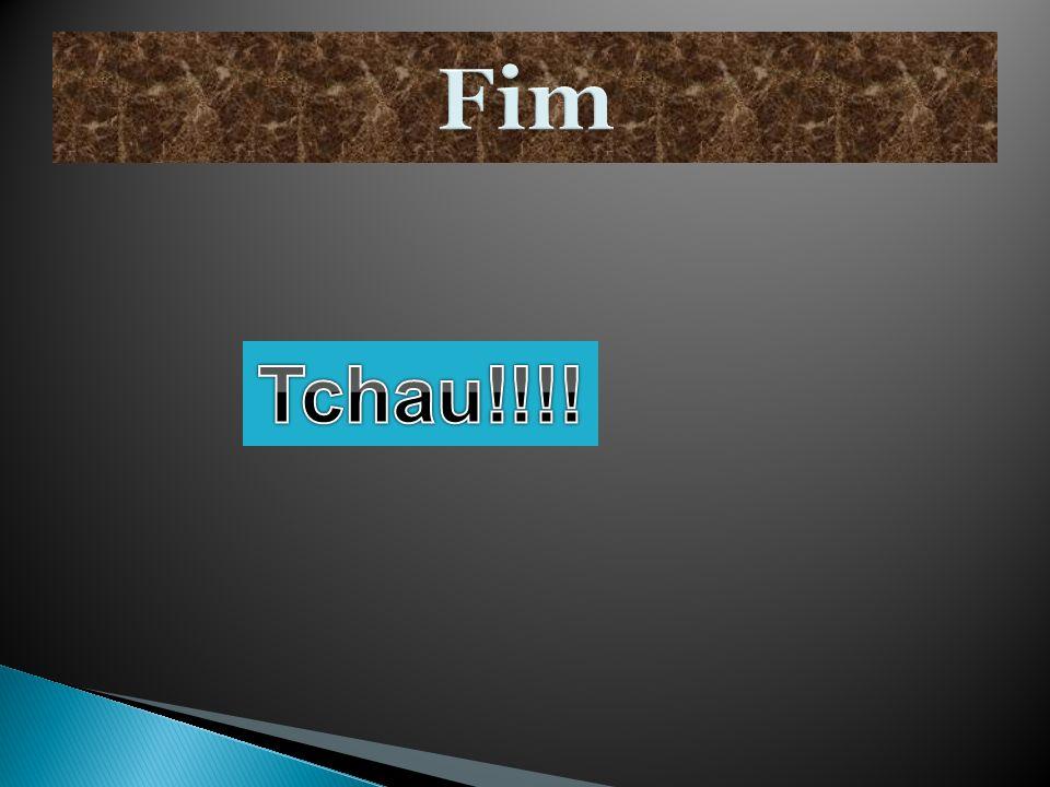 Fim Tchau!!!!
